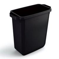 Durabin Slim Bin 60 Litres Black Ref S10496221