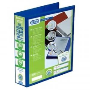 Elba Pres RBndr 50mm A4 4R Blu 400008431