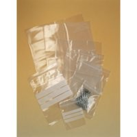 Polythene Bags Resealable Grip Seal Write On 102x140mm [Pack 1000]