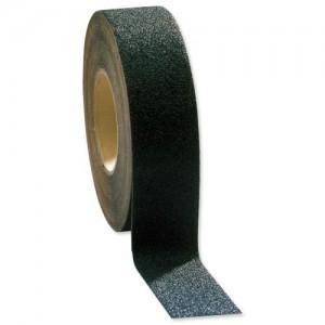 COBA Grip-Foot Tape Anti-slip Grit Surface Hard-wearing 25mmx18.3m Black Mat Code GF010001