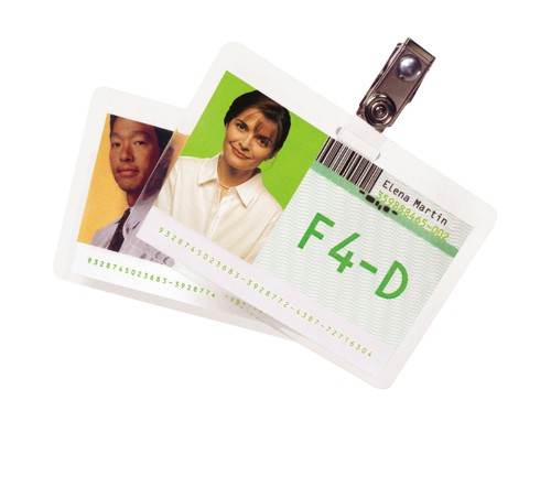 GBC Laminating Pouches Premium Quality 250 Micron For Credit Card Size 54x86mm Code 3740300