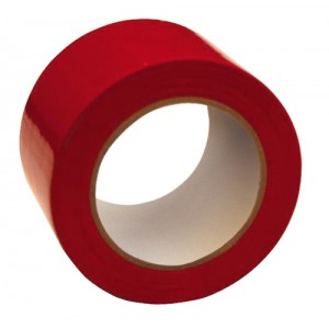 Floor Marking Tape Heavy Duty Red 75mmx33m Red