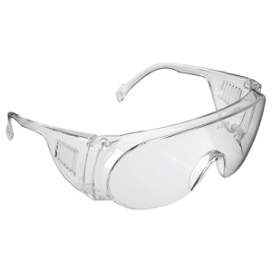 JSP Visispec Spectacles Polycarbonate Clear Lens