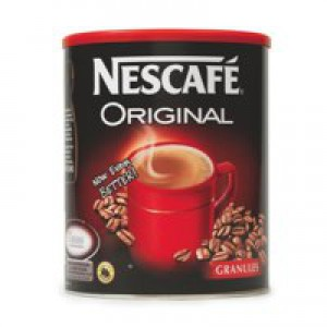 Nescafe Original Instant Coffee Granules Tin 750g Ref 12079880