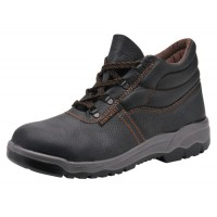 Image for Portwest S1P D Ring Chukka Boots Steel Toecap & Midsole Leather Slip-resistant Size 7 Ref FW10SIZE7