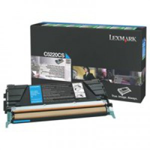 Lexmark C520N Return Program Laser Toner Cartridge Cyan Code C5220CS