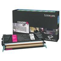 Lexmark Laser Toner Cartridge Page Life 5000pp Magenta Ref C5240MH