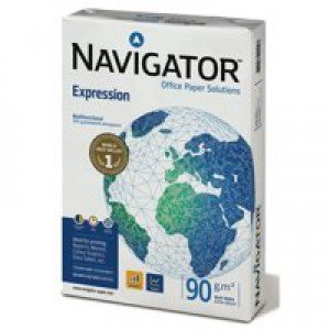 Navigator Expression Inkjet Paper Extra Smooth Ream-Wrapped 90gsm A4 White Ref NEX0900024 [500 Sheets]