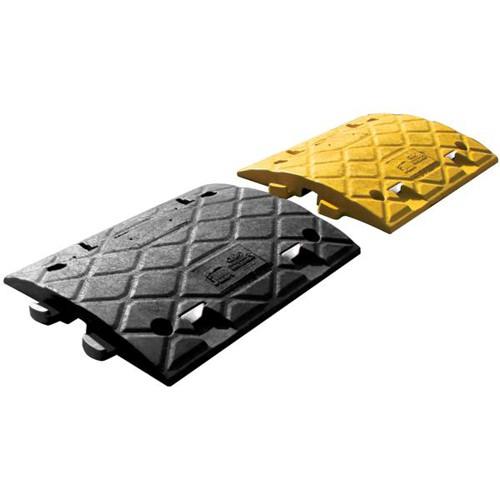 Speed Ramp 10mph Inner Section Pair PVC Reflectors Yellow Black