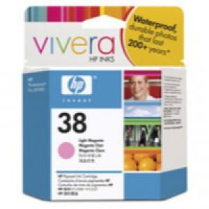 Hewlett Packard No38 Pigment Inkjet Cartridge Light Magenta C9419A