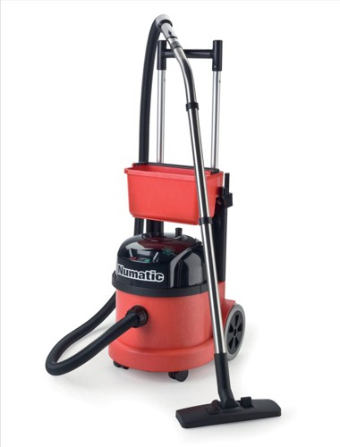 Numatic Pro Vacuum Cleaner Twinflo Hepaflo-filtration Retractable Handle Code PPT390