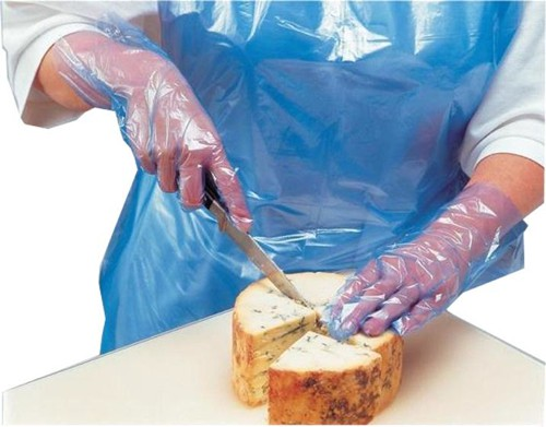 Polyco Digit PE Gloves Powder-free Polythene Textured Surface Code PE100