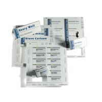 Durable Inserts for Duraprint Badgemaker Card 150gsm 40x75mm Ref 1453 [Pack 240]