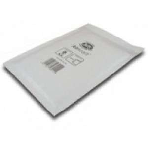 Jiffy Airkraft Postal Bags Bubble-lined Peel and Seal No.1 White 170x245mm Ref JL-1 [Pack 100]