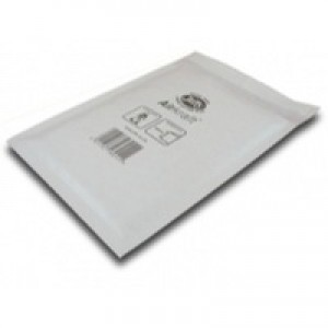 Jiffy Airkraft Postal Bags Bubble-lined Peel and Seal No.000 White 90x145mm Ref JL-000 [Pack 150]