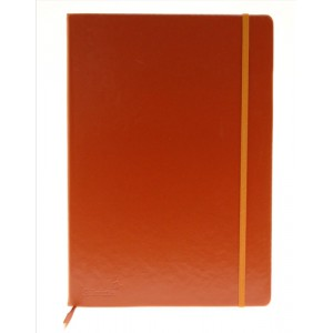 Silvine Executive Soft Feel A4 Notebook Tan