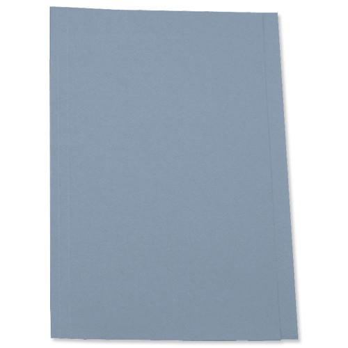 5 Star Square Cut Folder 250G A4 Blue