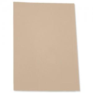 5 Star Square Cut Folder 250G A4 Buff