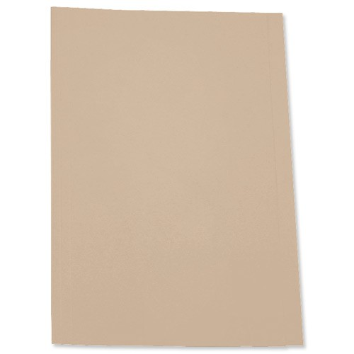 5 Star Square Cut Folder 250G A4 Buff