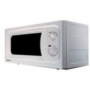 Manual Microwave Defrost and 5 Power Levels Capacity 20 Litre 800W White