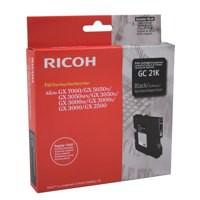 Ricoh GC21K Gel Cartridge Page Life 1500pp Black Ref 405532/40