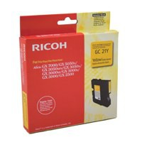 Ricoh GC21Y Gel Cartridge Page Life 1000pp Yellow Ref 405535