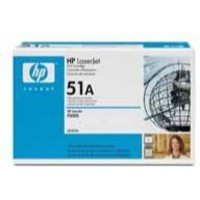 Hewlett Packard [HP] No. 51A Laser Toner Cartridge Page Life 6500pp Black Ref Q7551A