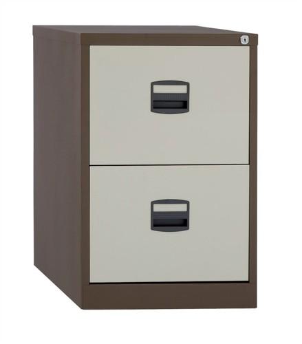Trexus 2 Drawer Filing Cabinet Cof/Cream