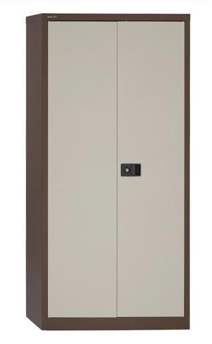 Trexus Cupboard 72in Cof/Cream 2 Door