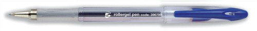 5 Star Office Rollergel Pen Blue