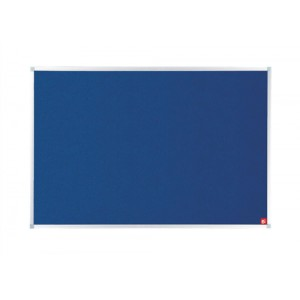 5 Star Noticeboard with Fixings and Aluminium Trim W1200x900mm Blue