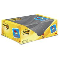 3M Post-it Note EZ Store 76x127mm Yellow 655Y-16