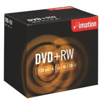 Image for Imation DVD+RW 4.7Gb 4X Pack of 10 i19008