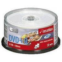 Image for Imation DVD+R 4.7Gb 16X White Inkjet Printable Spindle Pack of 30 i22375