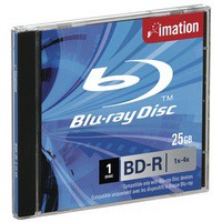 Image for Imation Blu-Ray Laser Disk BD-R Single Layer 1-4X 25Gb Pack of 1 i19989
