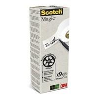 3M Scotch Magic Tape 900 Pack of 9 90019339