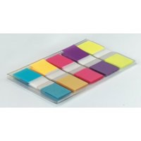 3M Post-it Portable Small Index 12mm Assorted (Pack of 1) 683-5CBINDEX