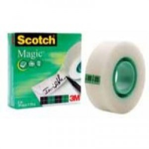 3M Scotch 810 Magic Tape 12mm x33 Metres 8101233