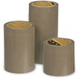 3M Scotch Packaging Tape Polypropylene 50mm x66 Metres Buff Pack of 6 C5066SF6