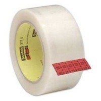 3M Scotch Packaging Tape Polypropylene 50mm x66 Metres Clear C5066SF6