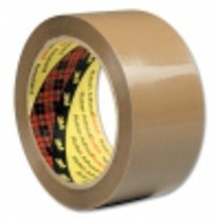 3M Scotch Packaging Tape PVC 50mm x66Metres Buff PVC5066F6 B