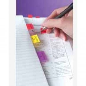 3M Post-it Index Tab 25mm Red 680-1