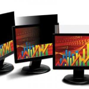 3M Black Privacy Filter for Desktops 21.5in Widescreen 16:9 PF21.5W9