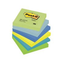 3M Post-it Note Dreamy Colours Rainbow Pack of 6 76x76mm 654MT
