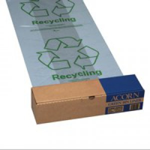 Bin Liners Capacity 60 Litres Clear [Pack 50]