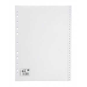5 Star Office PP Index A4 White 1-31