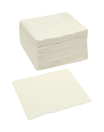 Paper Napkins Square 2 Ply 400x400mm White [Pack 250]