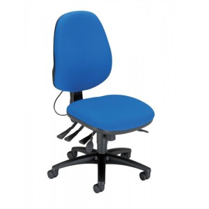 Sonix Support S3 Chair Asynchronous Lumbar-adjust High Back Slide Seat W480xD450xH460-570mm Ocean Blue