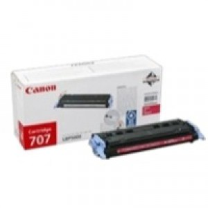 Canon 707 Laser Toner Cartridge Page Life 2000pp Magenta Ref 9422A004