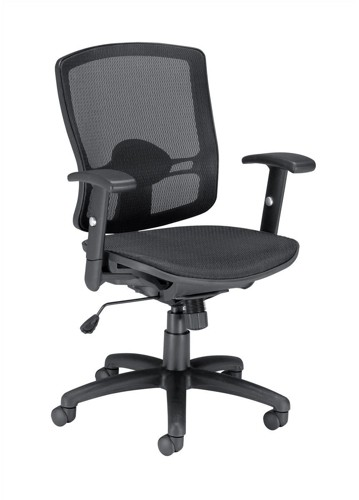 Influx Task All Mesh Armchair Seat W500xD500xH440-530mm Ref 11135-02